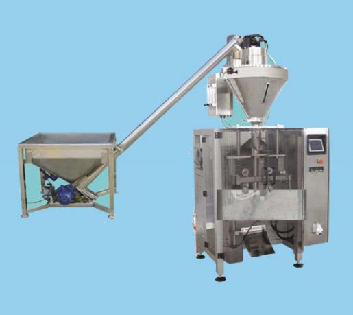 广泛用于各类粉料物料的定量包装 例如:、奶粉、面粉、米粉、食品、化工、制糖、添加剂等行业晶体、粉状物料的高速定量包装。 一、特 点 该机组由立式袋包装机、螺旋计量机、提升机、皮带输送机、重量选别机等组成 与物料接触部分采用不锈钢制造,更经久耐用。 独特的设计,传动部件少,维护非常方便。 使用进口伺服电机走纸,人机界面使用先进技术触摸屏,使操作更加简单方便。 选用优质的进口、国产电气器件和气动元件配置,确保设备稳定可靠运行。